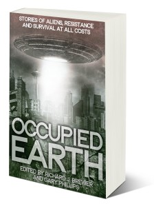 Occupied Earth standing book